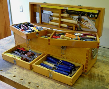Wooden Carpenters Tool Box Plans